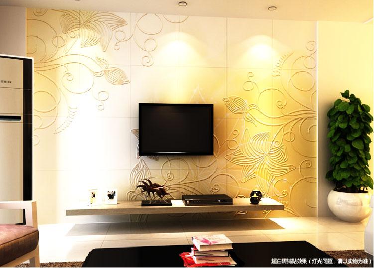 [供应]上海厂家直销背景墙|中式风格瓷砖电视背景墙上海批发价格