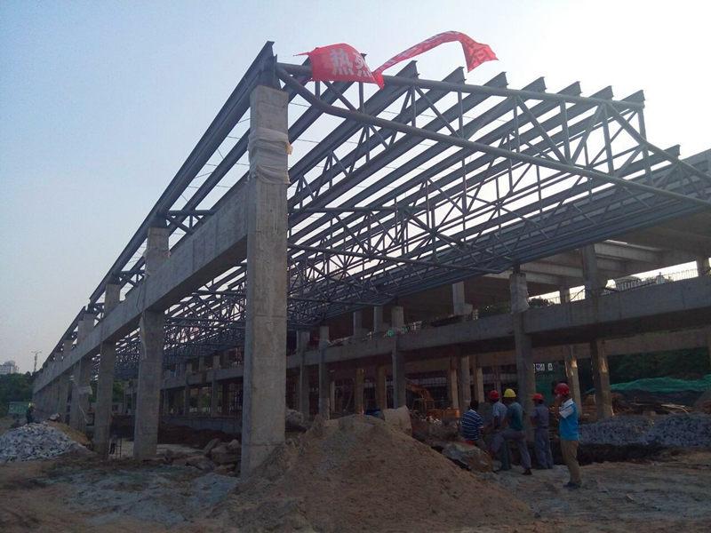 承接广州钢结构厂房工程高清图片 高清大图