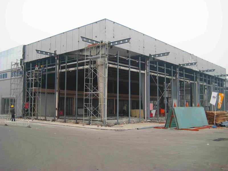 承接广州钢结构厂房工程产品图片高清大图