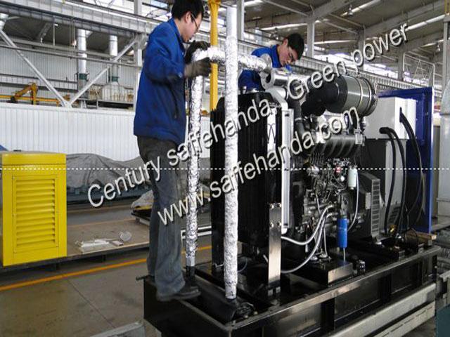 燃气发电机组产品大图