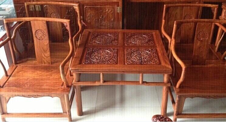 厂家批发花梨木茶桌茶几价格 红木古典家具