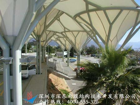 承接商业设施系列膜结构工程