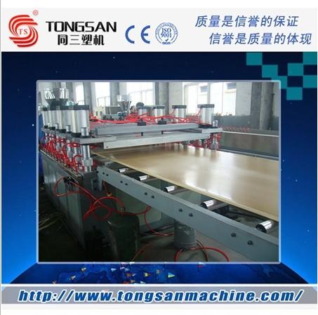木塑型材生产线 木塑复合材料挤出设备
