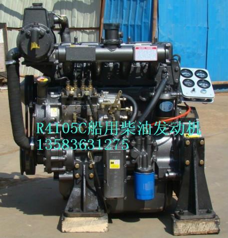 4105船用柴油机 4缸柴油机 配套齿轮箱 - 潍坊华旭