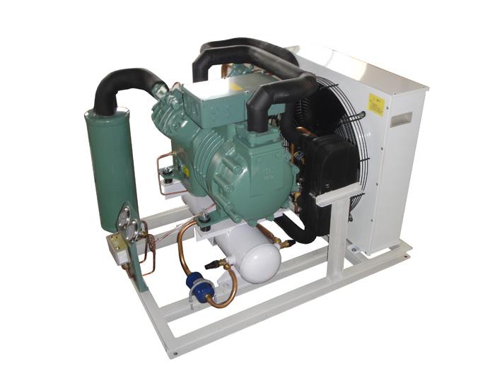 凝新活塞双极风冷机组/活塞冷凝机组/氟利昂制冷机组