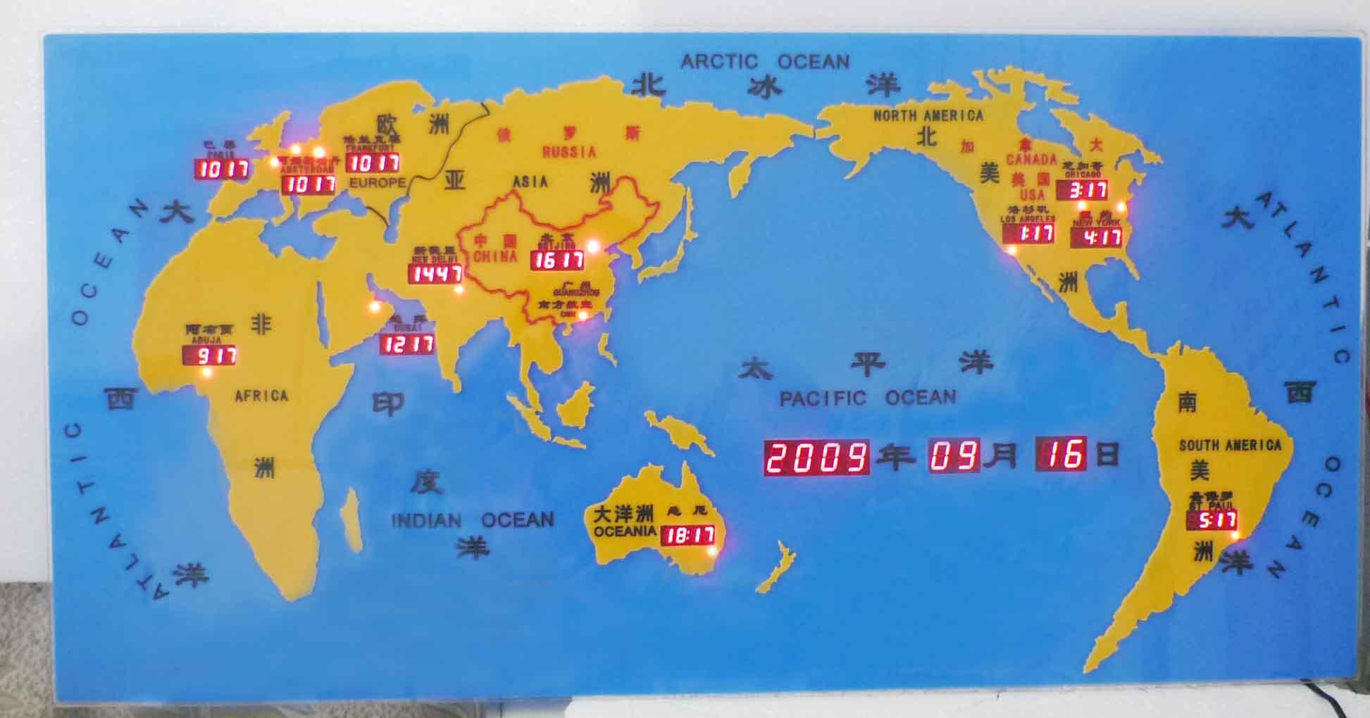 中英西语音芯片实际电路图