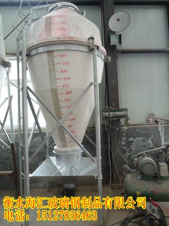 玻璃钢饲料塔 玻璃钢料塔 饲料塔