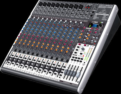 优质麦克风前置放大器  所有的xenyx调音台都有一样相同的特点–