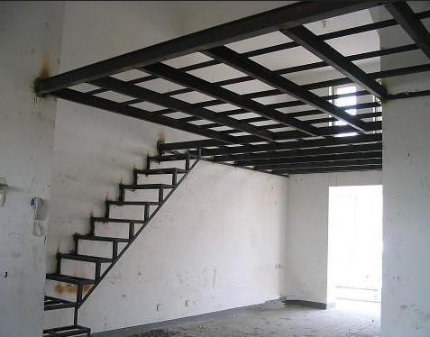 [供应]上海钢结构夹层搭建门面房跳空二层钢架