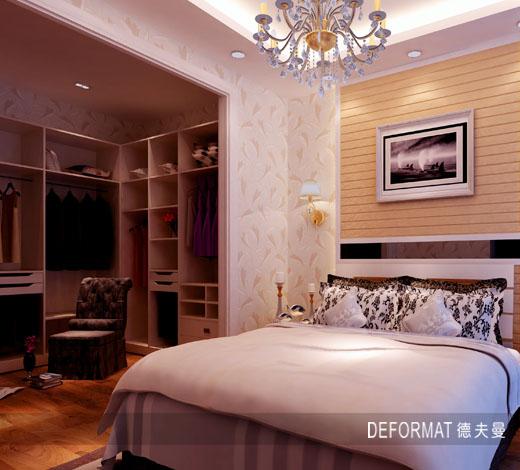 如何选购整体衣柜移门 广州德夫曼整体家居
