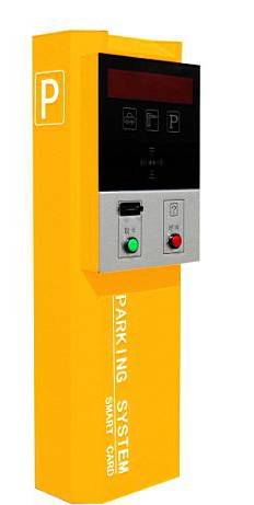 自动取卡器智能票箱广州停车场设备高清图片