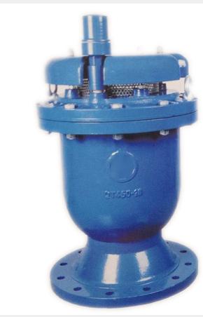 4. dyp4x卷帘复合式排气阀产品驱动方式:手动,蜗轮,气动,电动等.图片