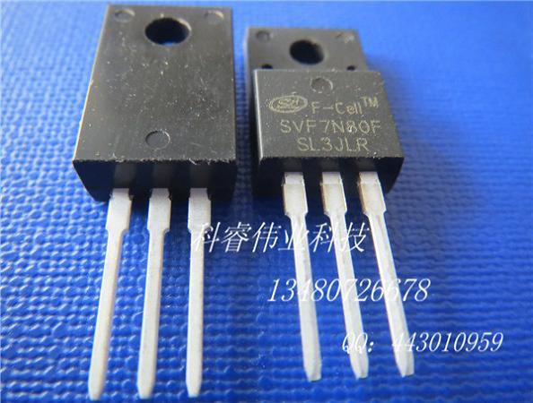 产品库 电子元器件 集成电路 >> svf7n80f 士兰微7n80场效应管silan