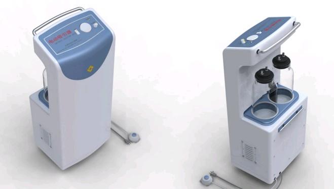 三水医疗器械外观设计,三水医疗器械工业设计产品大图