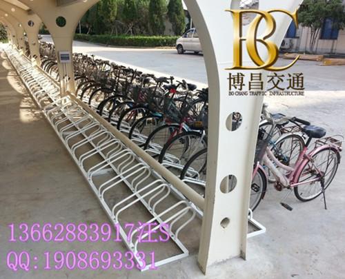 停放自行车自助架-东莞市博昌交通设施电子行业标签图片