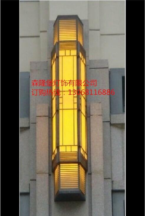 壁灯安装 仿云石壁灯 中式户内壁灯图片 led户外壁灯产品大图