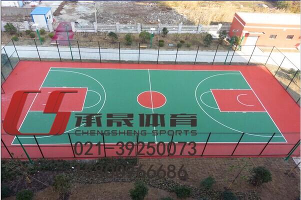 金华塑胶篮球场 施工价格高清图片 高清大图